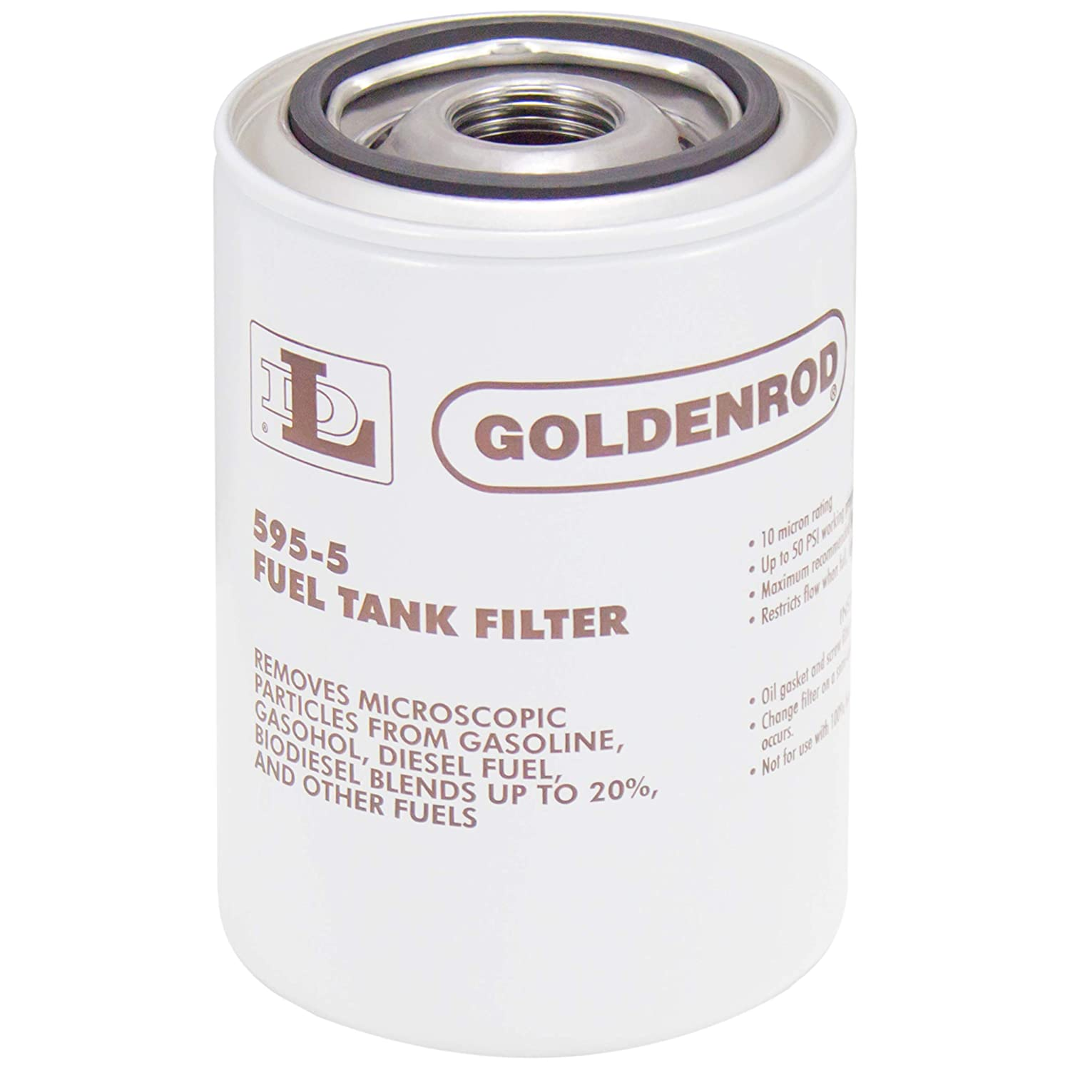Goldenrod 595 5 Fuel Tank Filter Replacement Canister Automotive