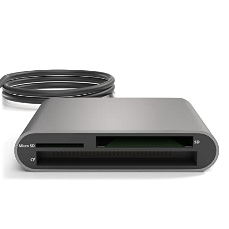 KabelDirekt Lector de tarjetas USB 3.0, (SDXC, SDHC, SD, MMC ...
