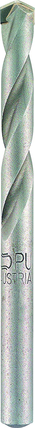 Alpen 36700600100 Tungsten Carbide Masonry Drill bits HM Long Life 7,87inx6,0mm, Grey, 6 X 200 Mm