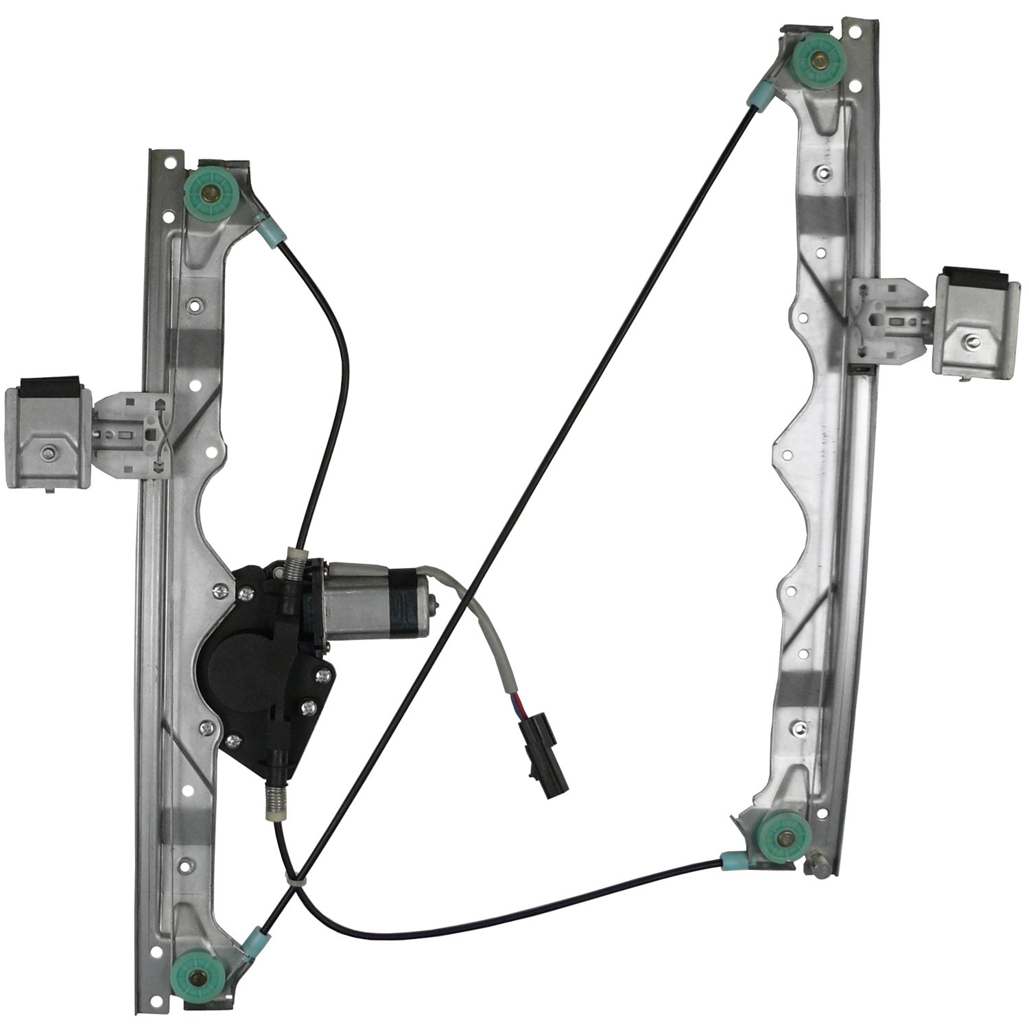 ACDelco 11A613 Professional Front Driver Side Power Window Regulator with Motor