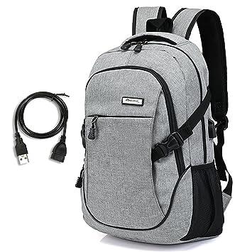 e541edd69f654 Laptop Rucksack mit USB - Rucksack Laptop 15