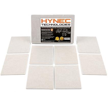 Fieltro adhesivo protector de goma para patas de mesa y muebles Hynec Technologies (8 unidades - 11,3 x 15,3)  almohadillas para muebles y sillas ...