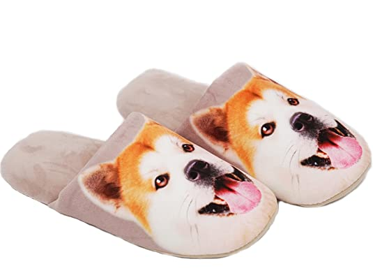 Dog Face House Slippers