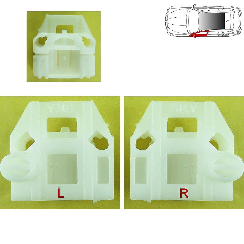 VW BEETLE WINDOW REGULATOR REPAIR CLIPS KIT FRONT LEFT 1999-2004 Near Side, N/S, UK Passenger Side