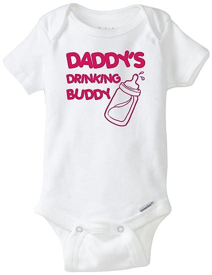 Amazon Com Blakenreag Daddy S Drinking Buddy Onesie Baby Girl Clothing