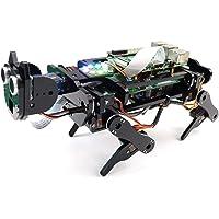 Freenove Robot Dog Kit for Raspberry Pi 4 B 3 B+ B A+, Walking, Self Balancing, Ball Tracing, Face Recognition…