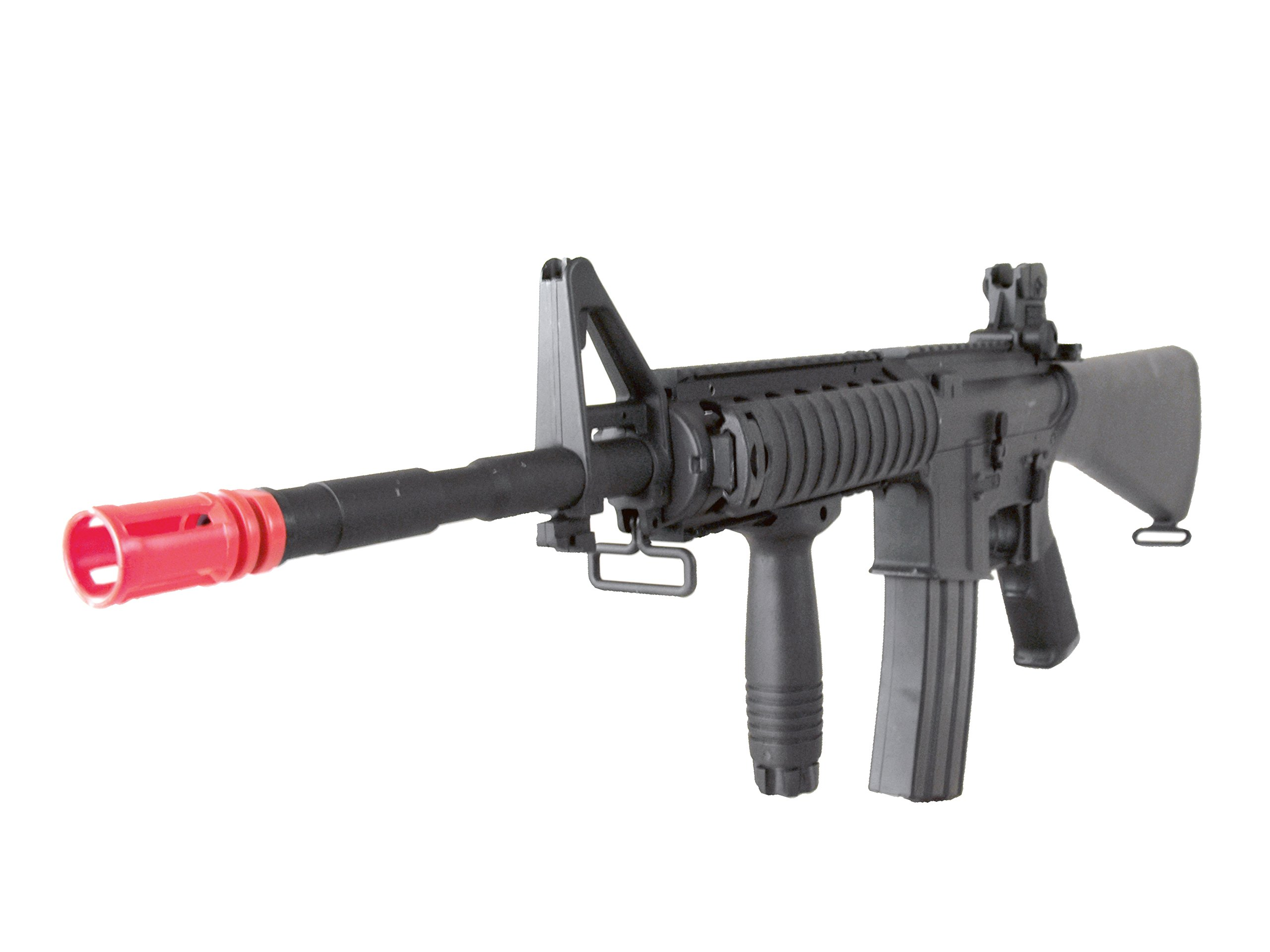 MetalTac Electric Airsoft Gun M4 SR16 Sniper A&K with Full Metal Body, Metal Gearbox Version 2, Full Auto AEG, Upgraded Powerful Spring 380 Fps with .20g BBs