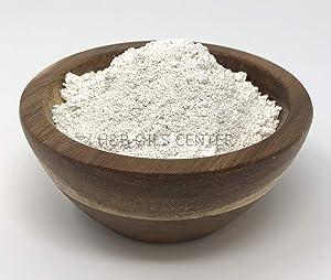 Kaolin Clay Organic Powder Deep Pore Mud Facial Skrub Mask Cleanser Exfoliating Detox Skin Treatment 100% Pure 1 oz
