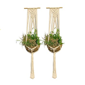 Ropesart Pflanze Aufhänger Innen vielseitig Terrasse Deco ...