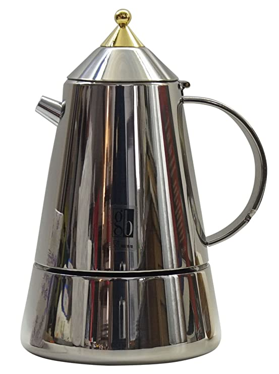 GB: Mia hornillo, taza de Espresso Maker 6: Amazon.es: Hogar