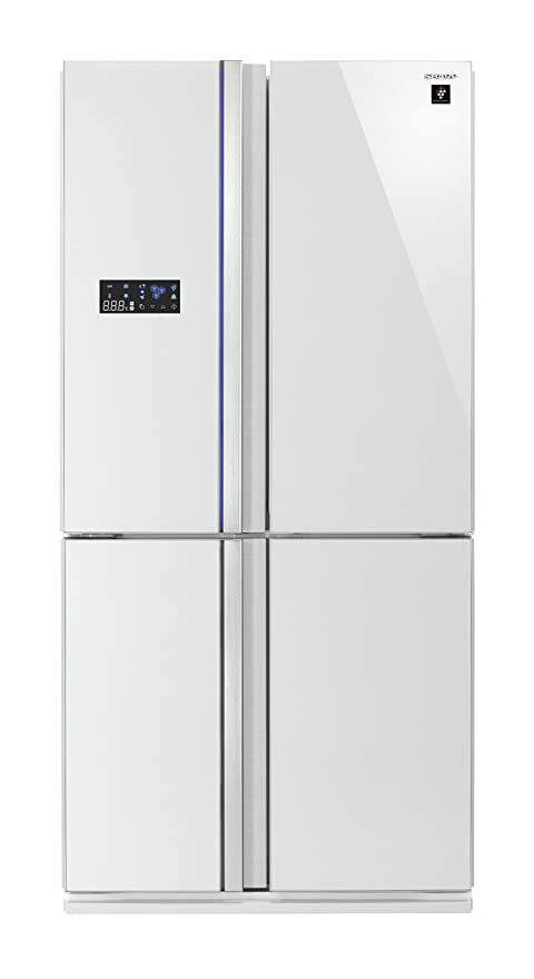 Sharp Home Appliances SJ-FS810VWH Independiente 600L A+ Blanco ...