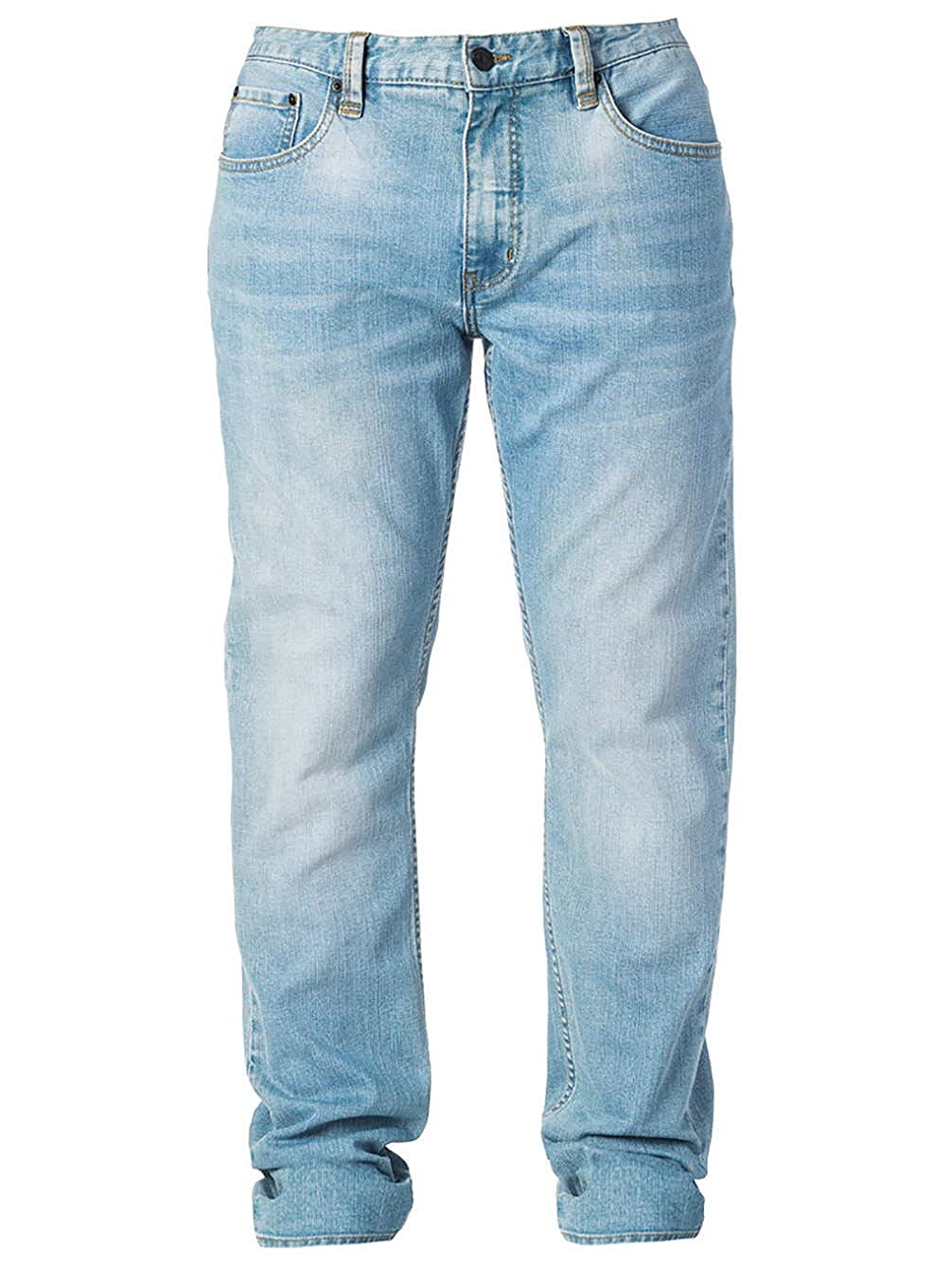 RIP CURL Jeans Pantalones vaqueros rectos para hombre Azul ...