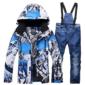 JXS-Outdoor - Traje de esquí para Hombre, Ropa de Invierno, Traje ...