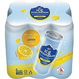 Ice Mountain Sparkling Water Lemon 325ml (Pack of 6)