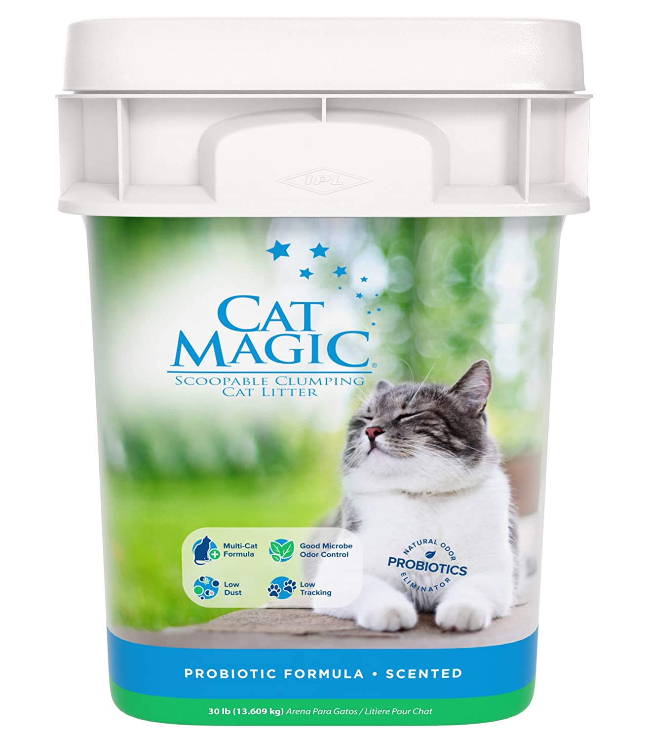 Amazon.com: Cat Magic Scented Clumping Clay Cat Litter, 35-Pound: Pet Supplies