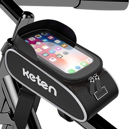 Cycling Bike Front Top Tube Frame Bag MTB Waterproof Phone Holder Case For Trek