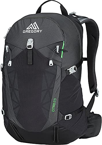 Gregory Mountain Products Citro 25 Liter Men s Day Hiking Backpack Hiking, Walking, Travel Free Hydration Bladder, Breathable Components, Cushioned Straps Stay Hydrated on The Trail