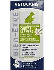 VETOCANIS Comprimés contre les vers pour Chien et Chat - Boîte de 30 comprimés, Arôme Viande - Lot de 2