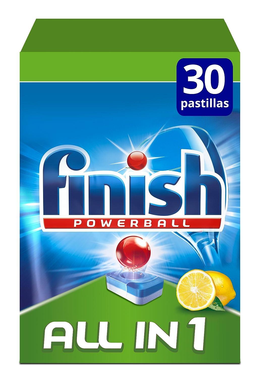 Finish Todo en 1 Original Limón Pastillas para Lavavajillas ...