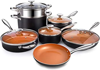 MICHELANGELO Ultra Nonstick Ceramic Cookware Set