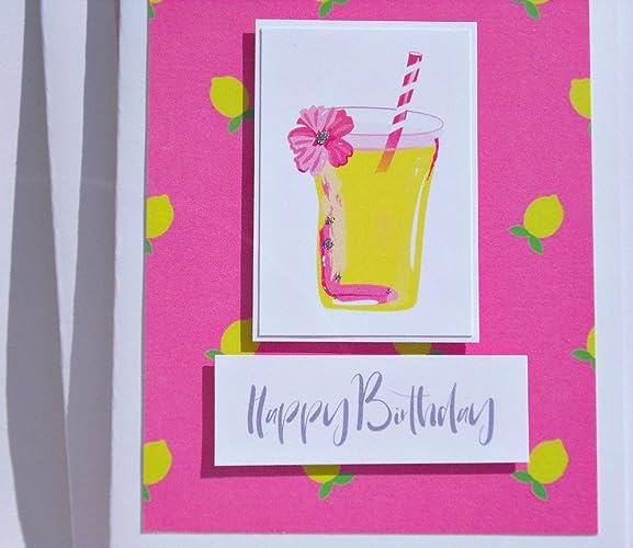 Amazon cocktail birthday card tropical birthday card cocktail birthday card tropical birthday card birthday cards for her birthday cards for m4hsunfo