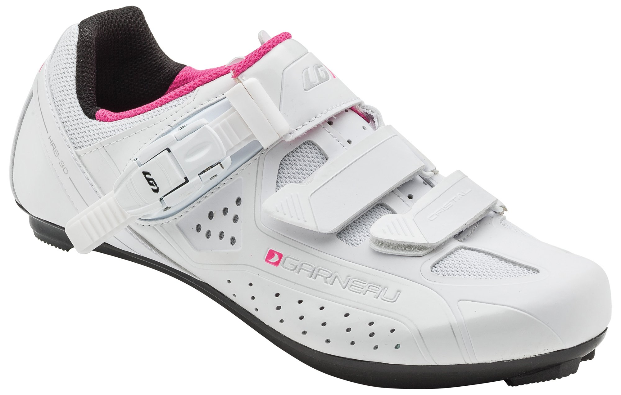 Louis Garneau Women's Cristal Bike Shoes, White, 38