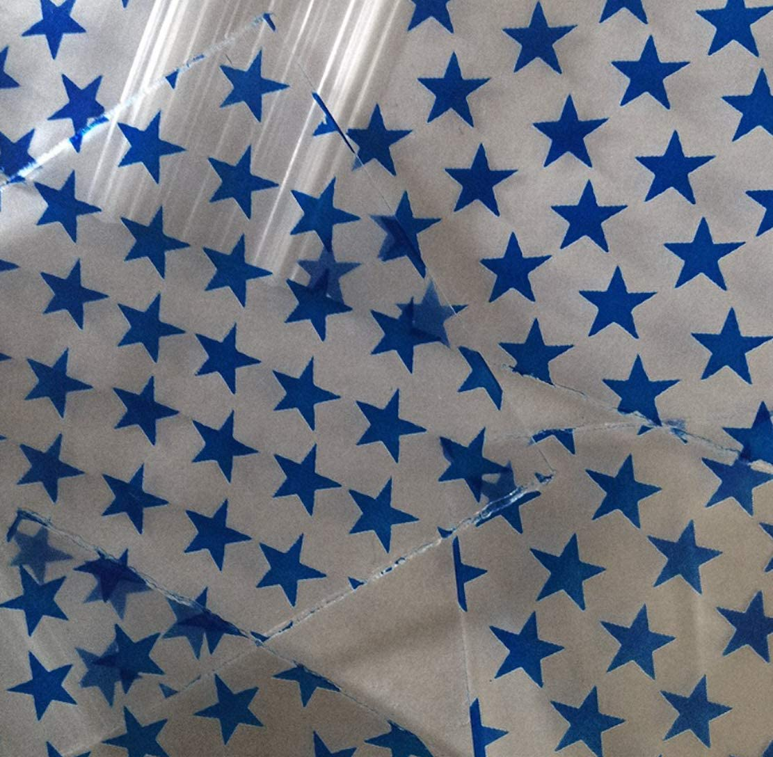 dise/ño de Estrellas Color Azul 1000 Bolsas de 2 x 3 Pulgadas PLASTIC ZIPLOCK BAGGIES Bolsas de pl/ástico con Cierre de Cremallera