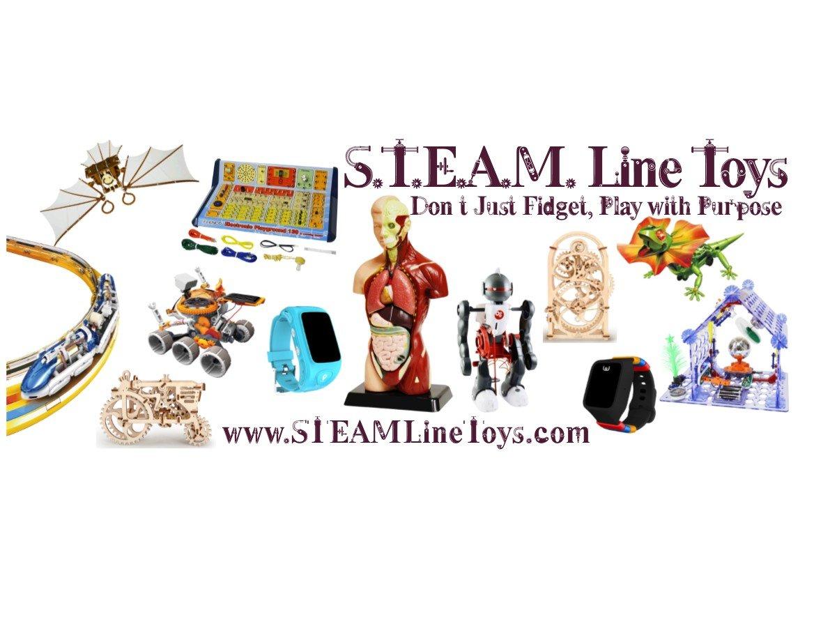 S.T.E.A.M. Line Toys Elenco Owi T4 Transforming Solar Robot Kit