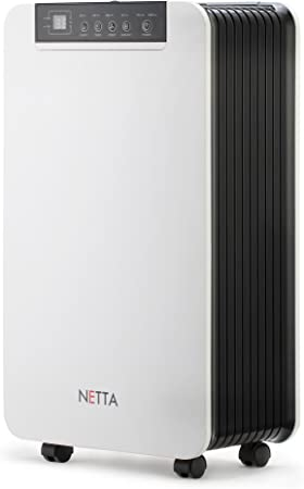 NETTA Deshumidificador 12 litros - tamaño de la habitación: Amazon ...