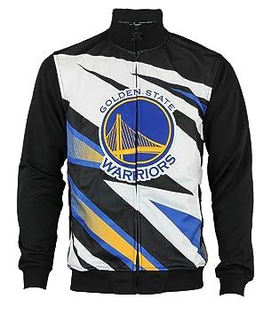 Golden State Warriors de la NBA hombres Moto cremallera ...