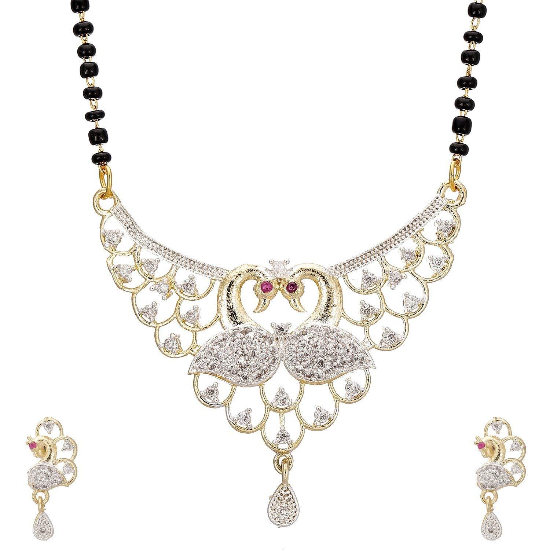 Buy Rapid Costore Pendant Set Necklace With Earrings Jewellery Set