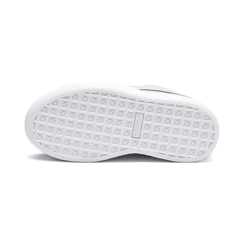 PUMA Basket Vikky Platform Glitz pour Fille
