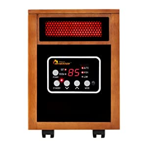 Dr Infrared Heater Quartz + PTC Infrared Heater