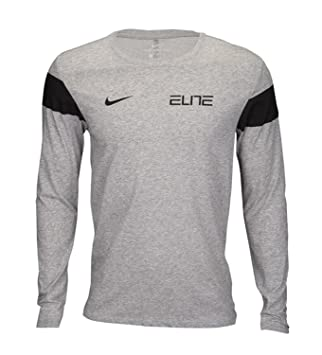 Nike para hombre Dri Elite de manga larga pecho camiseta de ...