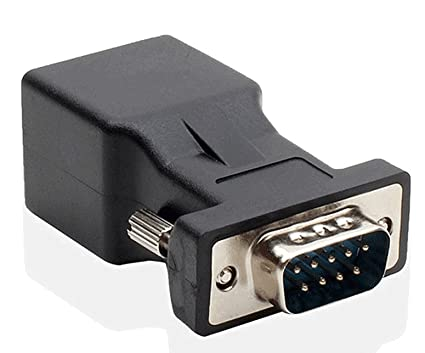 amazon com lm yn db9 rs232 com male port to rj45 female connector Alalen Bradley plc RS232 Wiring image unavailable