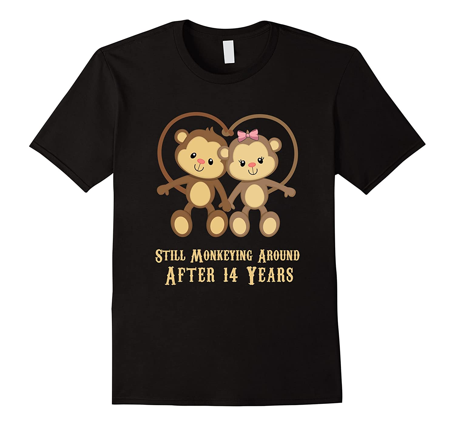 14th Wedding Anniversary T Shirt - 14 Years Vintage Gift-ah my shirt one gift