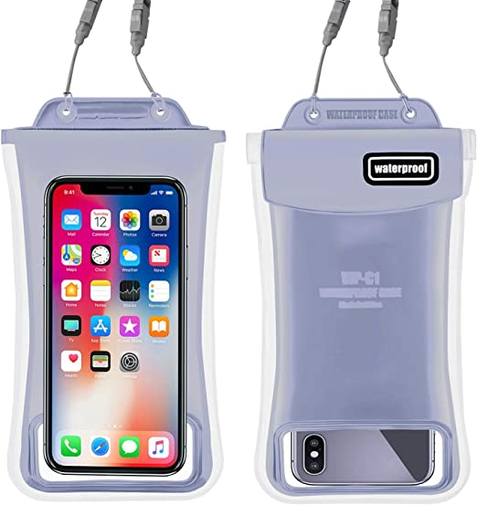Unisex Floating Waterproof Phone Bag Outdoor Swimming Underwater Pouch Dry Case