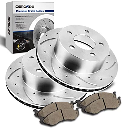 Front And Rear Ceramic Brake Pads Fits Jeep Grand Cherokee 1993 1994 1995-1998