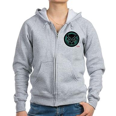 86f72346 Amazon.com: CafePress Black Panther Grunge Icon Zip Hoodie: Clothing