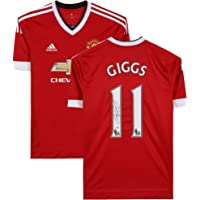 $297 » Ryan Giggs Manchester United Autographed Home Jersey - Icons - Fanatics Authentic Certified - Autographed Soccer Jerseys
