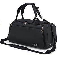 CySILI® Reistas, sporttas, kan als rugzak gedragen worden, handbagage, met schoenenvak en vak voor natte spullen, met…