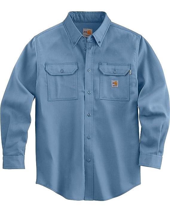 1. Carhartt Flame Resistant Twill Shirt
