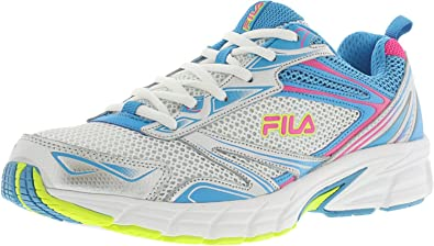 Fila Women's Royalty Running Sneakers, Blue Mesh, Leather, ...