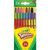 押出式クレヨン クレヨラ・ミニ・ツイスタブル・クレヨン Crayola Mini Twistables Crayons 24色 [並行輸入品]