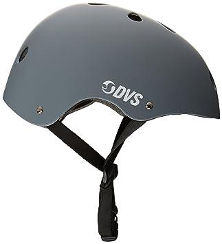 Casco De Skate DVS Logo Gris-Blanco (S 48-54Cm, Gris)