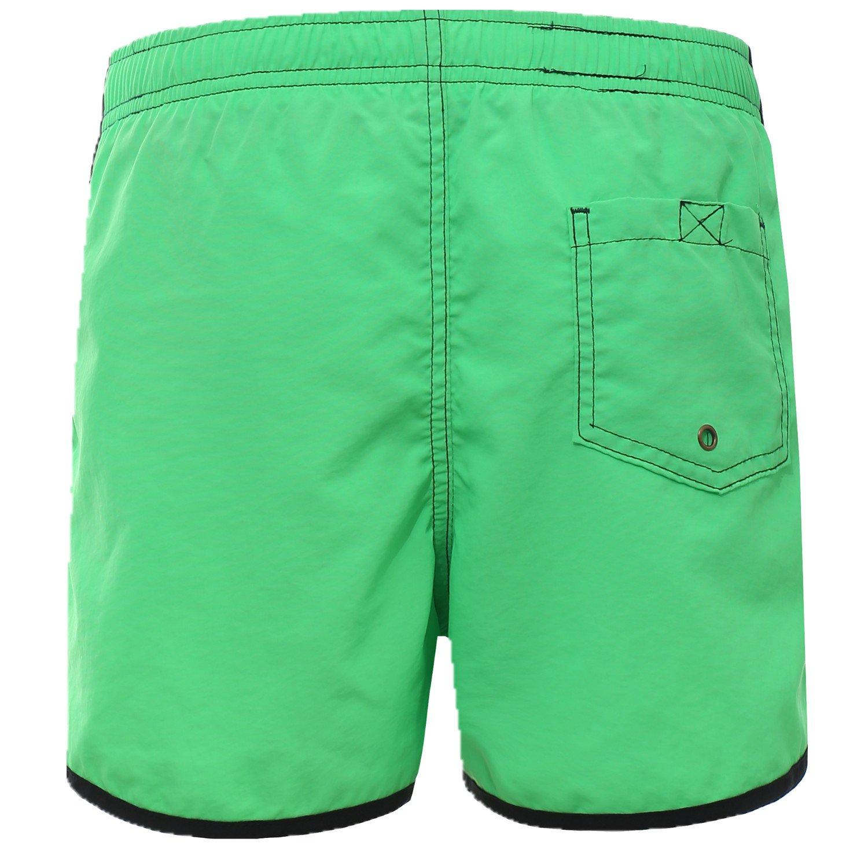 Clothin Women's Boardshort Casual Sports Elastic Shorts with Drawstring