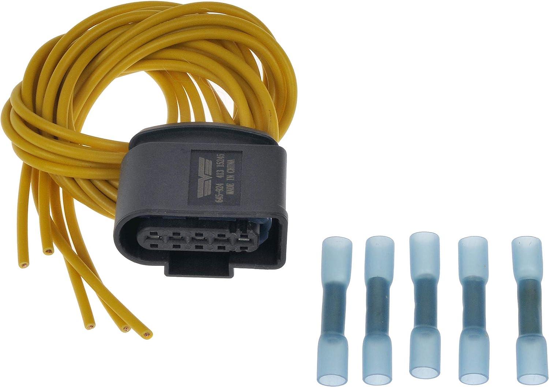 Dorman 645-924 Mass Air Flow Sensor Connector for Select Audi/Volkswagen Models