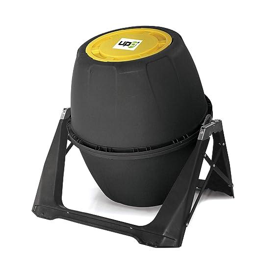 UPP - Compostador de Tambor de 180 l, con ventilación Interna, Seguro contra parásitos, compostador rápido