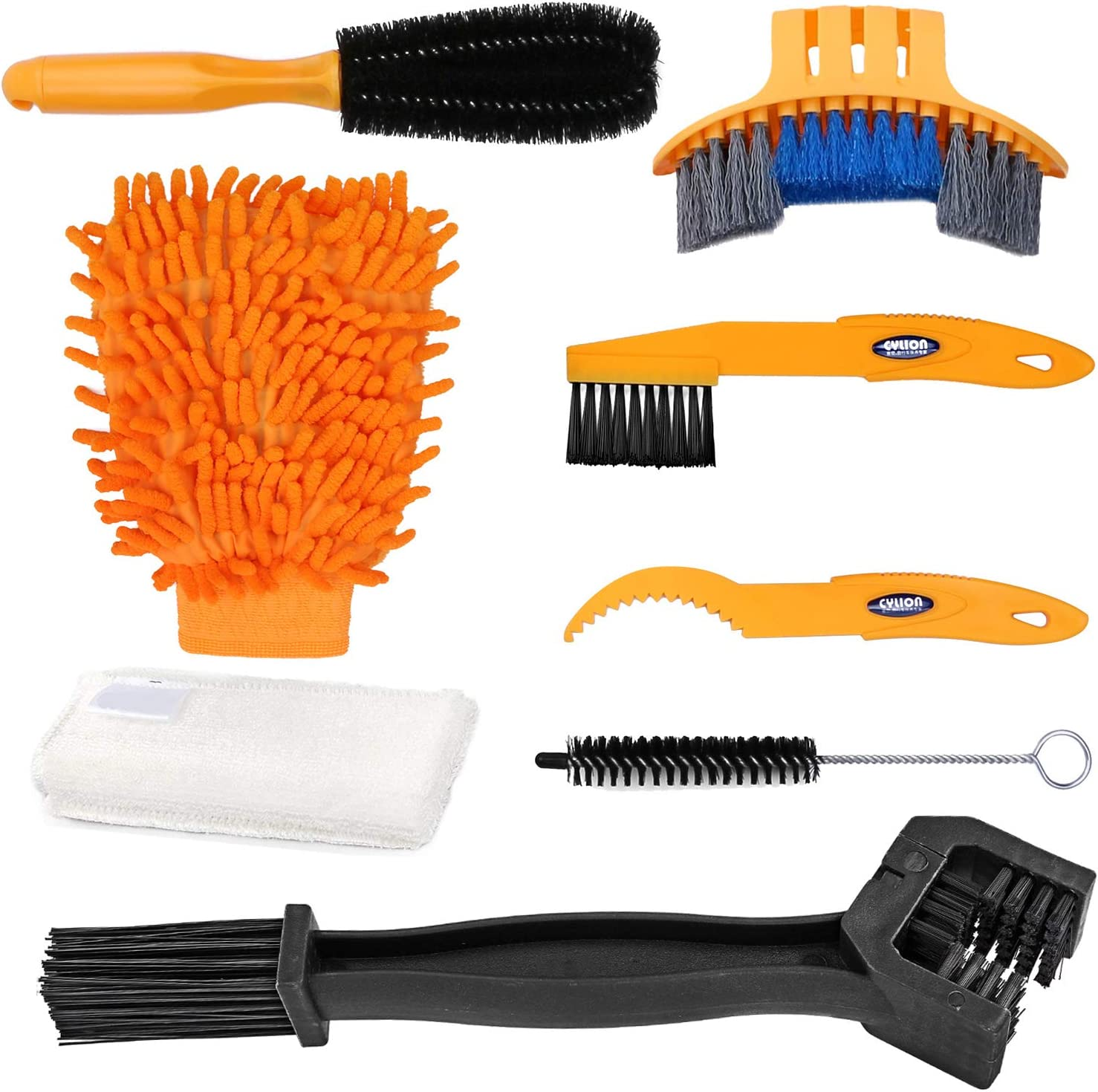 Bike Chain Cleaning Brush Cleaner Scrubber Clean Dirt Removal Tool Bicycle