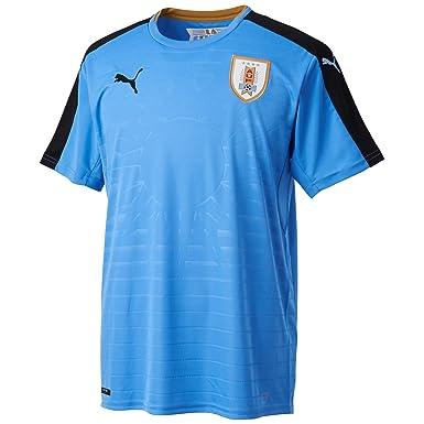 Uruguay 2016 Domicile - Maillot de Foot Réplique - Bleu/Noir - taille S:  Amazon.fr: Vêtements et accessoires